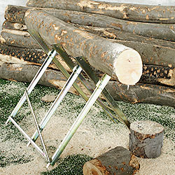 Foldable Woodcutter Trestle