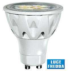 Lampadina a Led Faretto PAR16 6W Luce Fredda