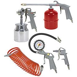 Kit 5 Accessori Pneumatici per Compressore