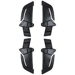 Clip Kask Zenith Fermalampada Frontale Kit 4 Pezzi