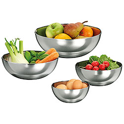 Stainless Steel Bowls Delux