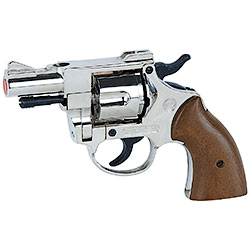 Revolver a Salve Olympic 38 Calibro 380 Nickel Bruni