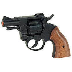 Revolver a Salve Olympic 38 Calibro 380 Nero Bruni
