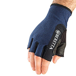 Beretta Half Fingerrs Mesch Shooting Gloves