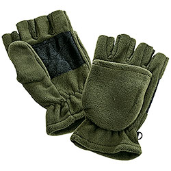 Muffola gloves, Green