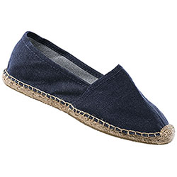 Espadrillas Uomo Blu Denim