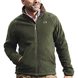 Giacca in pile Baleno Watson Fleece Green