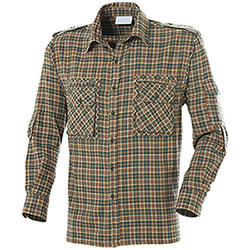 Camicia Flanella Land Green Red