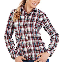 Camicia Telfs Bordeaux Lady