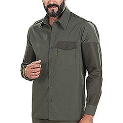 Over Shirt kalibro Upland Green Cotone e Cordura