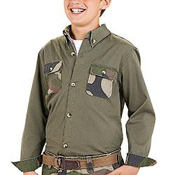 Camicia Bambino Kalibro Green