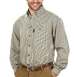 Camicia Seeland Burton Egret Check