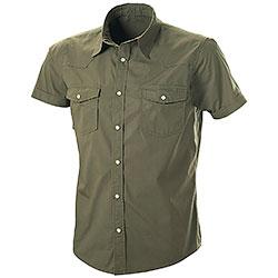 Camicia Manica Corta Easy Green