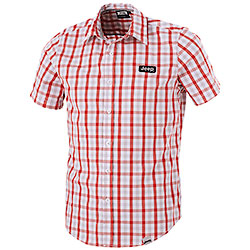 Camicia Jeep Check Light Grey/Red
