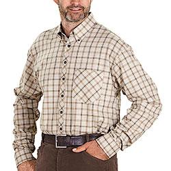 Camicia Krim Light Flanel Beige
