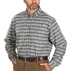 Camicia falnella uomo Bauer Heavy Flanel Olive