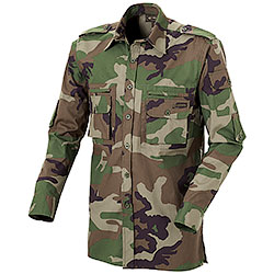 Camicia Caccia Kalibro Three Pockets Camo