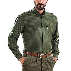 Camicia regular fit Kalibro Fleece   Woods