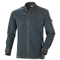 Camicia Jeans uomo Cofra Elasticizzata