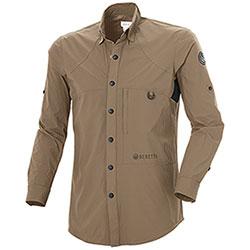 Camicia Beretta HI-Dry Hunting Brown