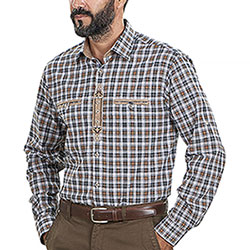 Camicia Edelweiss Brown Check
