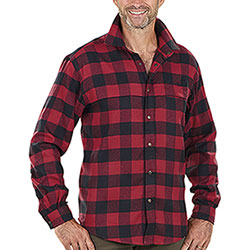Camicia flanella uomo Seeland Redwood Lumber Check