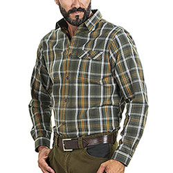 Camicia Seeland Gibson Forest Green Check