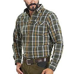 Camicia flanella uomo Seeland Gibson Forest Green Check