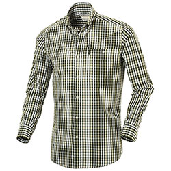 Camicia uomo Beretta Button Down Green Check