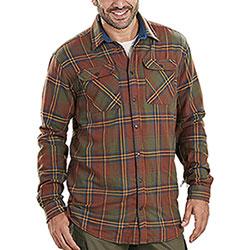 Camicia Seeland Nolan Sequoia Rust Check