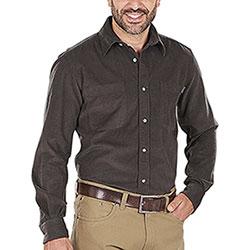 Camicia uomo Beretta Corduroy Brown