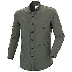 Camicia uomo Beretta HI-Dry Hunting Green
