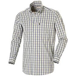 Camicia uomo Beretta Button Down White Check