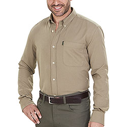 Camicia flanella uomo Beretta Winter Cotton Flannel Beige