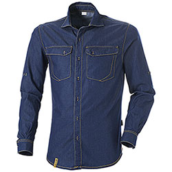 Camicia Jeans uomo Cofra Everytime Virton