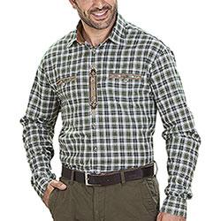 Camicia uomo Edelweiss Green Check