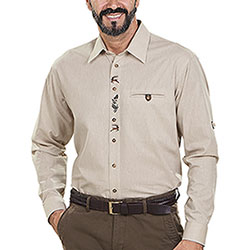Camicia uomo Alpen Lord Light Sand