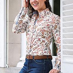 Camicia Donna Baleno Mary Flower