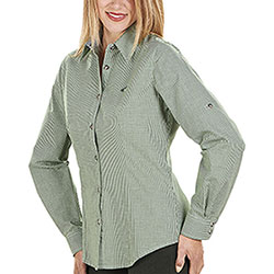 Camicia Donna Eleonor Green Little Check