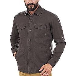 Overshirt Beretta Heavy Cotton Brown Bark