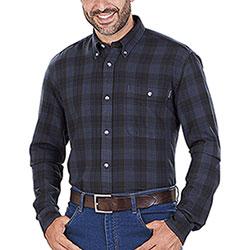 Camicia uomo Beretta Wood Flannel Beige Green Bark Check