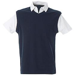Polo Shirt City Navy Piquet Original JRC