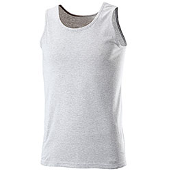 Tank Top Fruit of the Loom Grey Melange