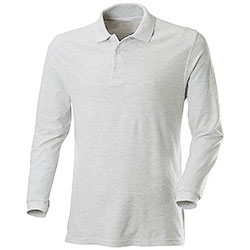 Polo Fruit Of The Loom Light Grey M/L