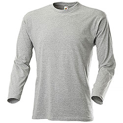T-Shirt Manica Lunga Grey