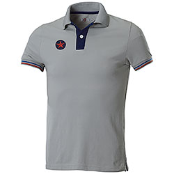 Polo manica corta Star U.S. Army Light Grey