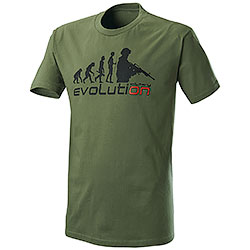 T-Shirt Evolution Military Green
