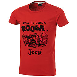 T-Shirt uomo Jeep Adventures