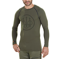 Maglietta Intima Beretta Body Mapping Warm Green M/L