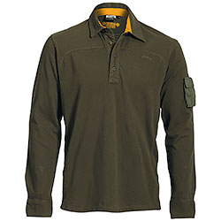 Polo Jeep ® Manica Lunga Military Green original